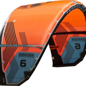 Drifter surf kite orange bonaire