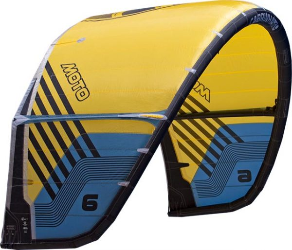 Moto Yellow Bonaire Kiteschool