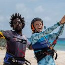 Private lessons kite surfing bonaire